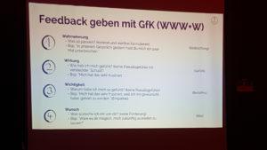 Feedback geben mit GfK (WWW + W)